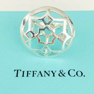 Tiffany & Co. Picasso Zellige Cage Ring Size 5.75